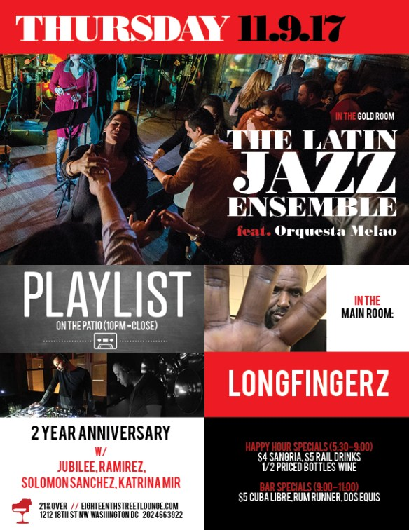 Playlist 2 Year Anniversary Part 2 with Katrina Mir, Solomon Sanchez, Jubilee & Ramirez at Eighteenth Street Lounge