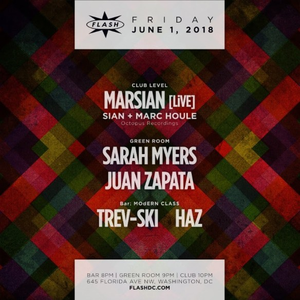 marsian live at flash