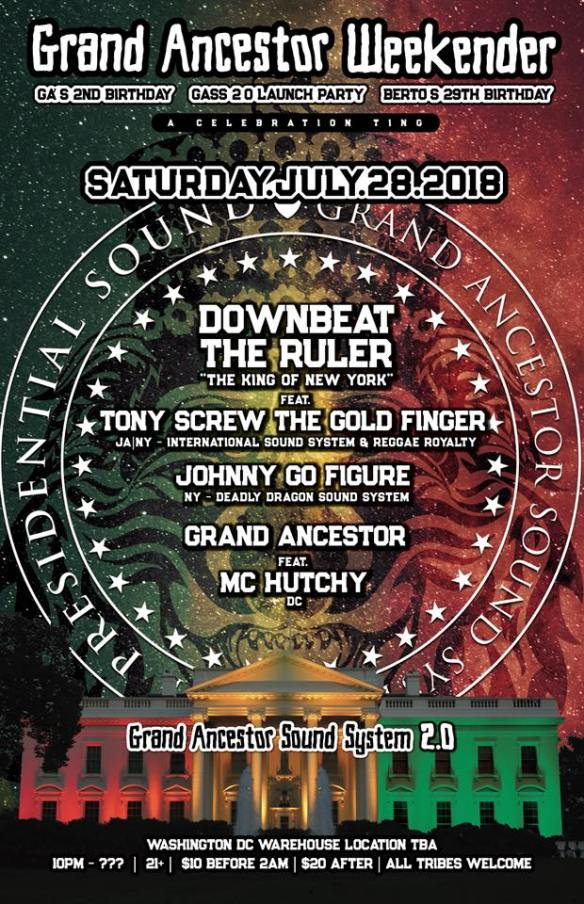 grand ancestor 2.0 Downbeat the rules