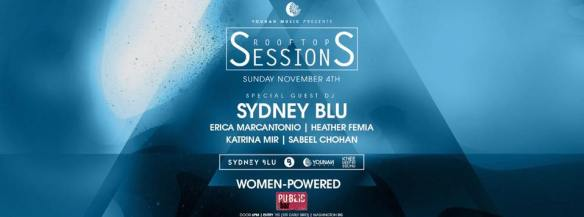 Rooftop Sessions with Sydney Blu