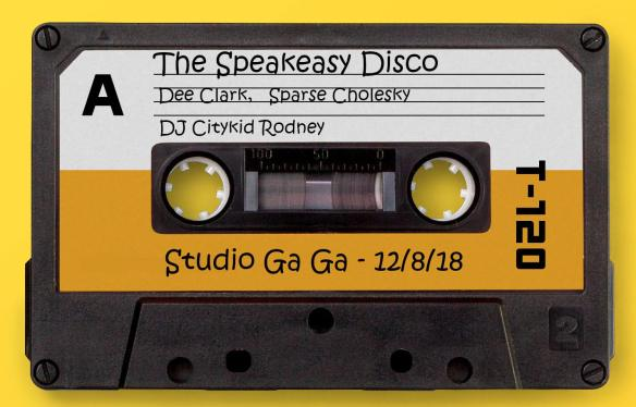 the speakeasy disco dee clark sparse cholesky