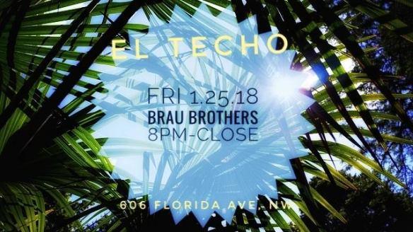 Brothers Brau at El Techo