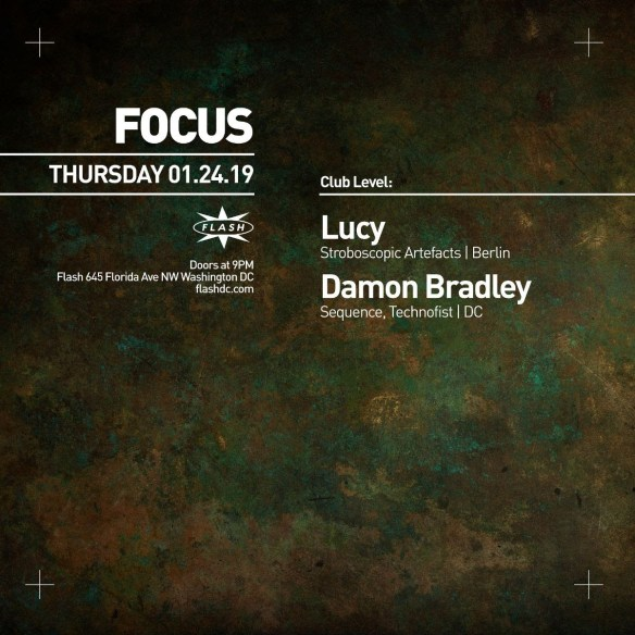 Focus with Lucy and Damon Bradley at Flash