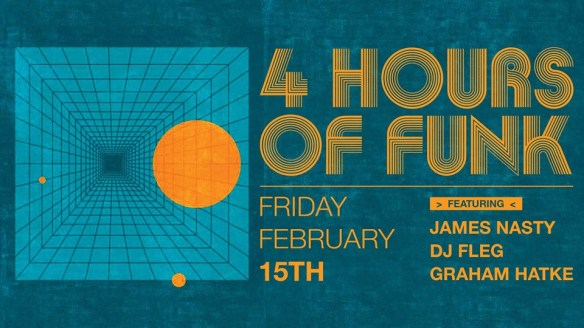 4 Hours of Funk with James Nasty at The Windup Space