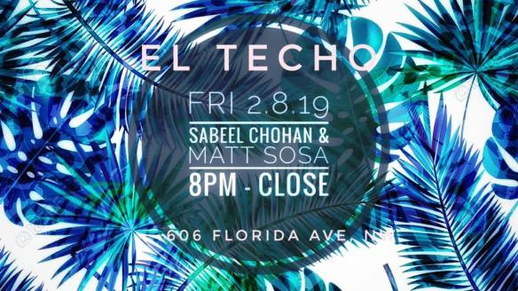 Sabeel Chohan and Matt Sosa at El Techo