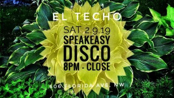 The Speakeasy Disco at El Techo