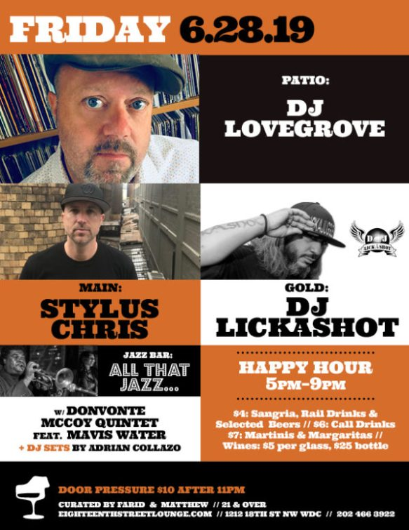 ESL Fridays with DJ Lovegrove