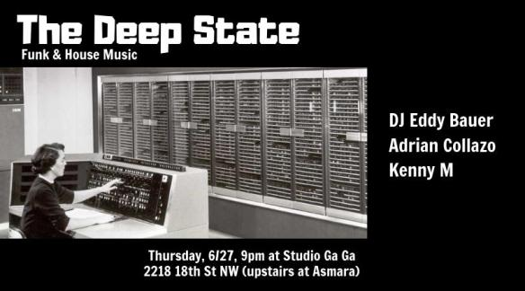 the deep state at studio ga ga