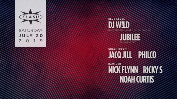 DJ W!ld Jubilee Jacq Jill Philco at Flash