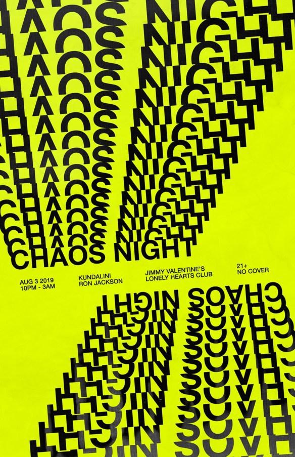 chaos night with kundalini and ron jackson