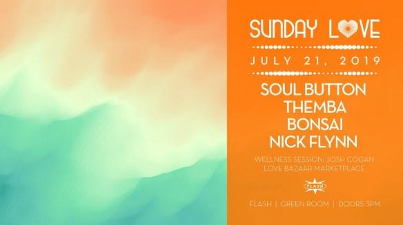 sunday love soul button