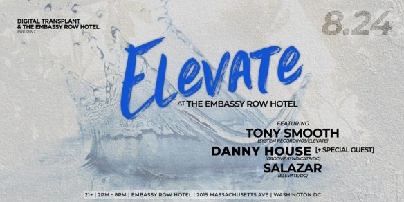 elevate pool party at embassy row