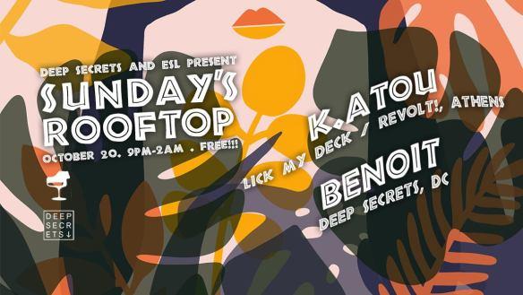 Sundays Rooftop with K.atou