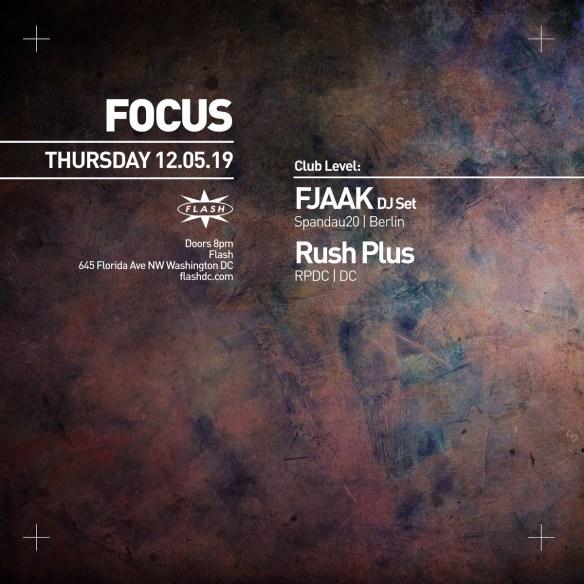 Fjaak with Rush Plus at Flash