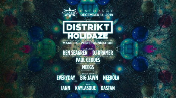 distrikt holidaze at flash dec 14