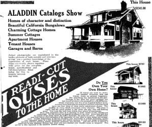Aladdin Kit Houses in Washington DC