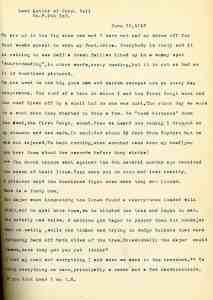 1918-06-25 Edward Bell Letter (1)