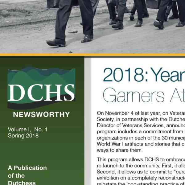 DCHS NEWSLETTER ARCHIVE
