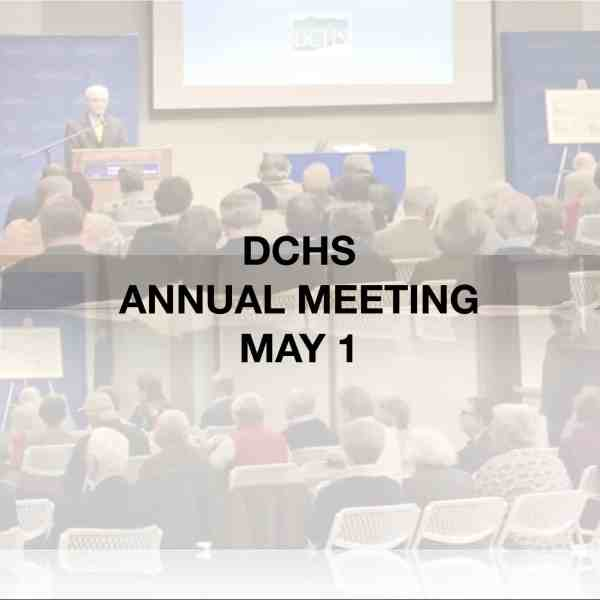 Annual Meeting May 1 Hyde Park