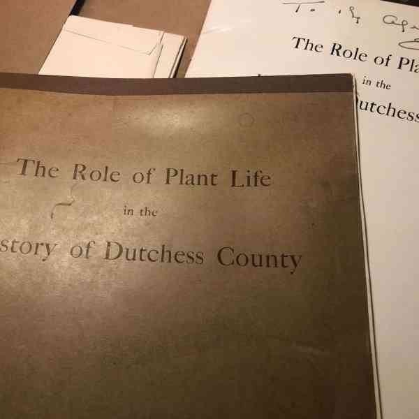 ROLE OF PLANT LIFE IN COUNTY HISTORY