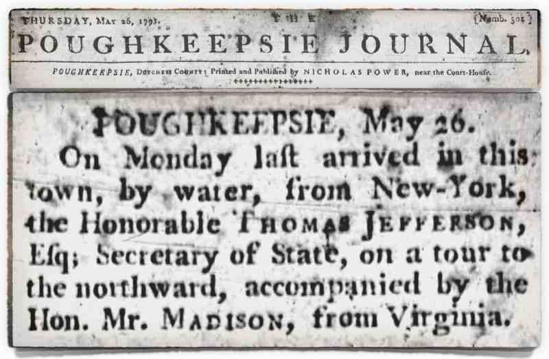 Jefferson Madison 1791