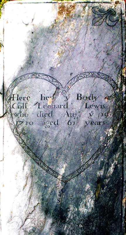Leonard Lewis Headstone PRC