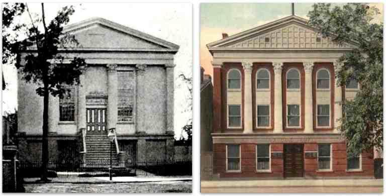 Methodist Church 1854 Masonic T 1895