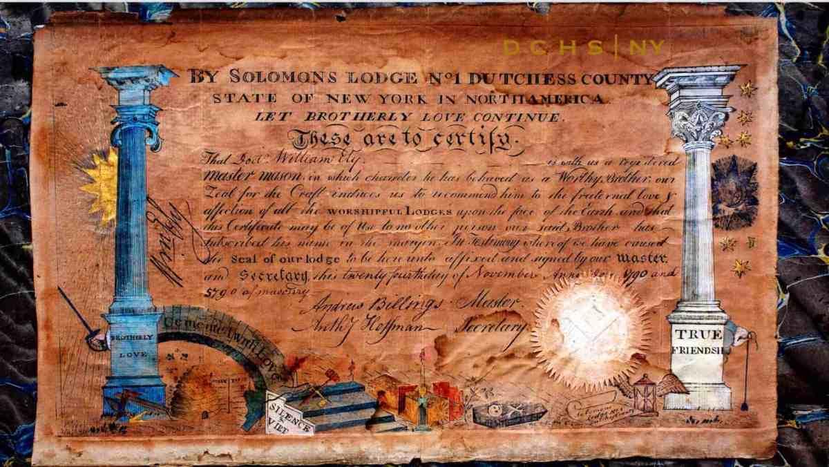 Masonic Sullivan 002 1780 Ely