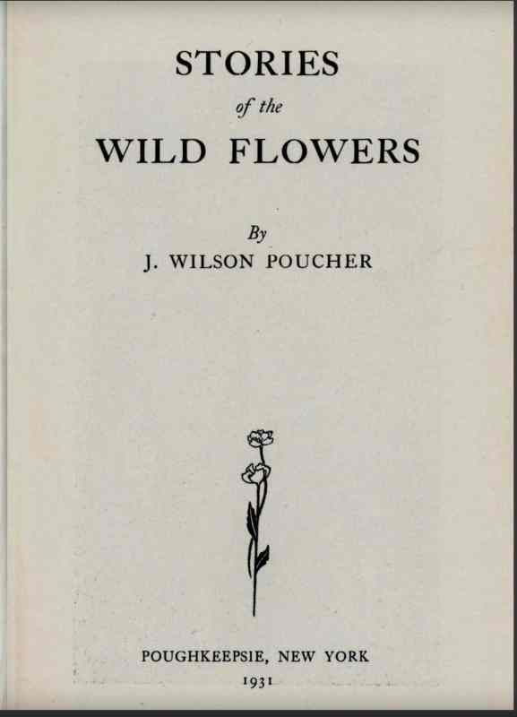 Poucher Wildflowers Cover