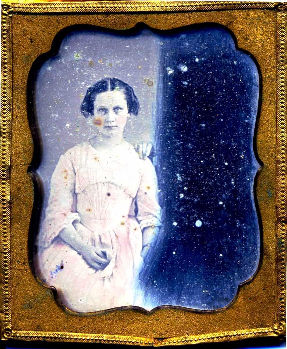 CMCE Caroline M Clowes Daguerreotype