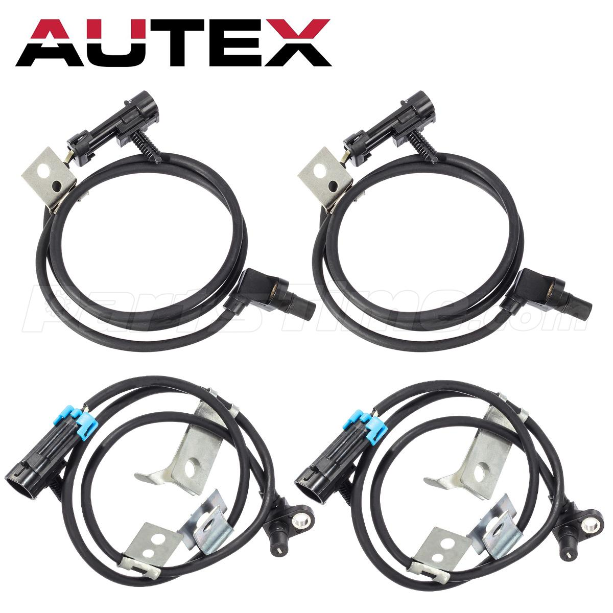 Front Left Amp Right Abs Wheel Speed Sensor For