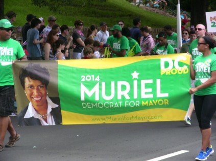 Muriel Bowser for Mayor Palisades Parade 2013