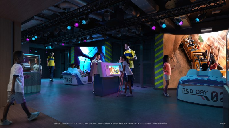 Disney Wish - Disney's Oceaneer Club - Walt Disney Imagineering Lab