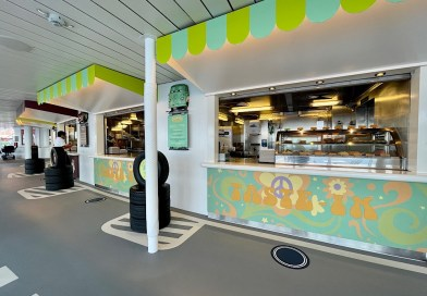 The Current Process of Ordering Quick Service Food Onboard the Disney Fantasy