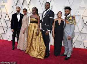 """""""Black Panther"""" cast 