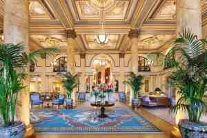 Hotel Lobby of the Willard Intercontinental Hotel