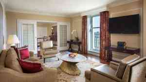 George Washington Suite at the Willard Intercontinental Hotel