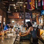 sports bar scene