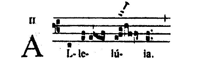 Voorbeeld 2: De bovenste noot verlengd (Grad. Rom. p. 273)