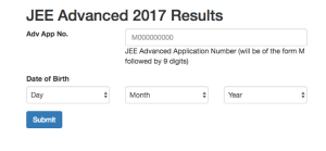 JEE Advanced results