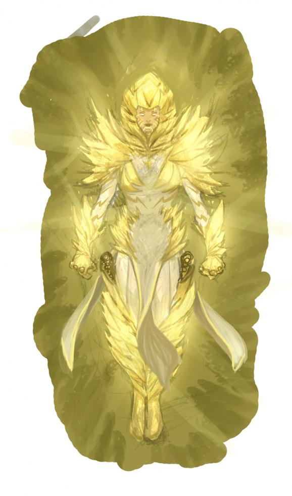Julian Totino Tedesco's design for the new Pandora. The revamped heroine will first appear in Trinity of Sin: Pandora #7 and remain a Light-bearer for the remainder of the crossover.
