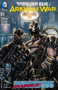 Forever Evil: Arkham War #4 cover by Jason Fabok