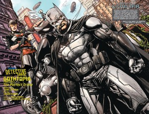 Detective Comics #27 interior pages by Jason Fabok