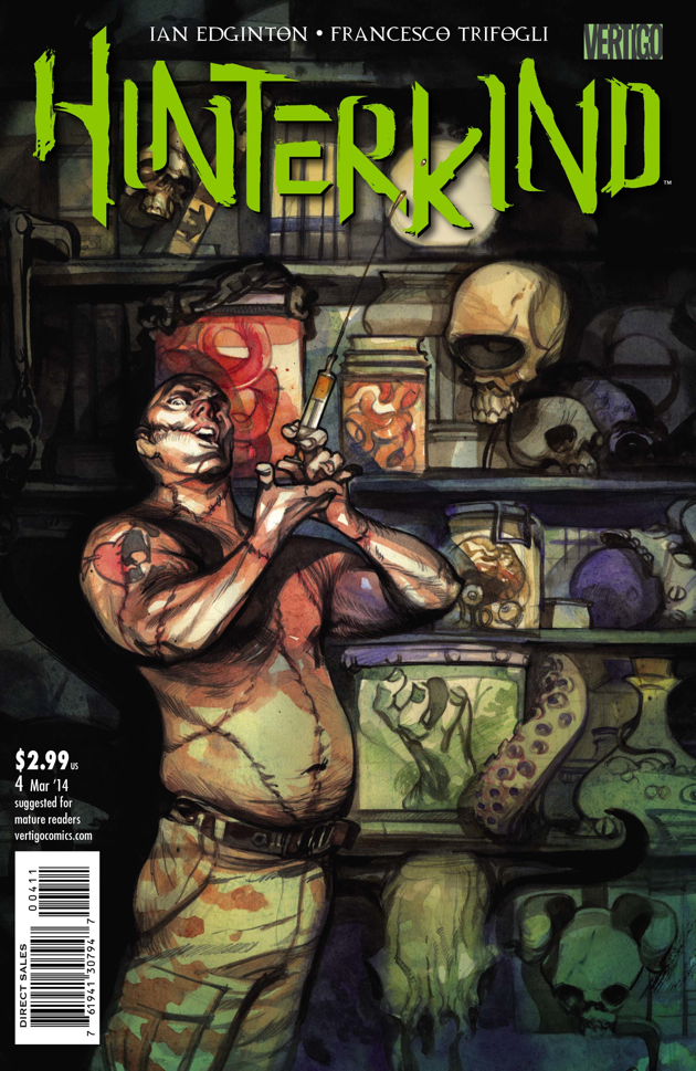 Cover to Hinterkind #4 by Greg Tocchini.
