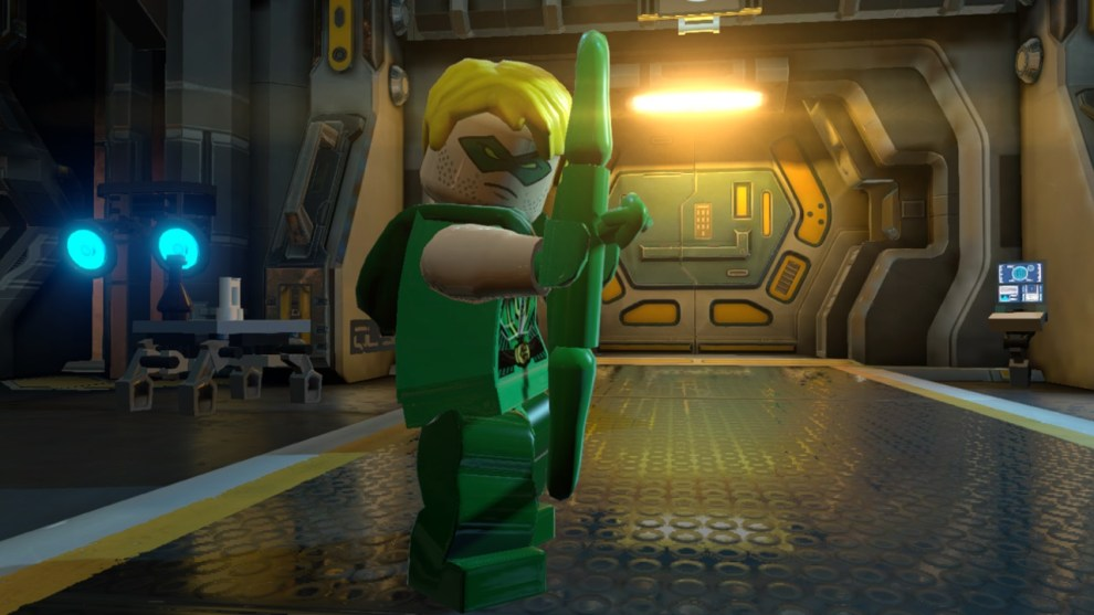 Green Arrow voiced by Stephen Amell