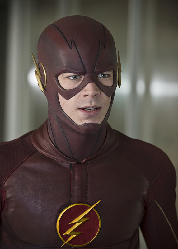 """The Flash -- """"All Star Team Up"""" -- Image FLA118B_0132b -- Pictured: Grant Gustin as The Flash -- Photo: Cate Cameron/The CW -- © 2015 The CW Network, LLC. All rights reserved."""