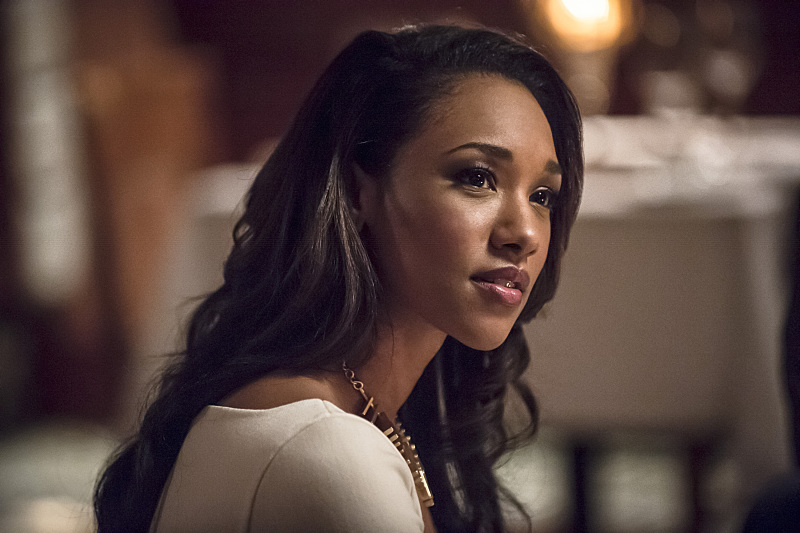 """The Flash -- """"All Star Team Up"""" -- Image FLA118A_0288b -- Pictured: Candice Patton as Iris West -- Photo: Cate Cameron/The CW -- © 2015 The CW Network, LLC. All rights reserved."""