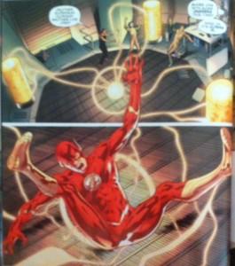 JLA 3 Catching a Flash