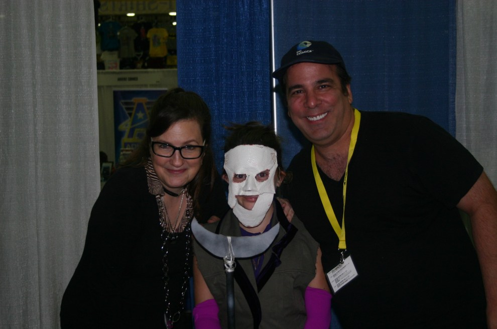 Amanda and Jimmy with Joker's Daughter