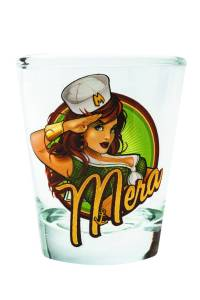 TOON TUMBLERS DC BOMBSHELLS MERA MINI GLASS $5.99